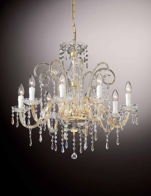 OR/426 Lead or Swarovski crystal chandeliers traditional-chandeliers