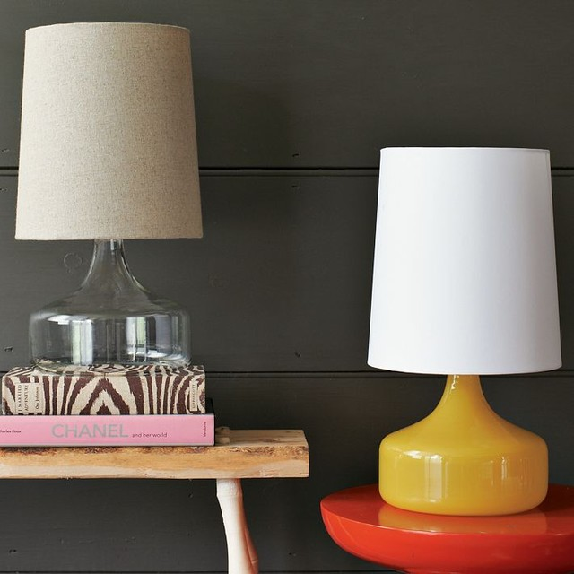 Perch Glass Lamp contemporary-table-lamps