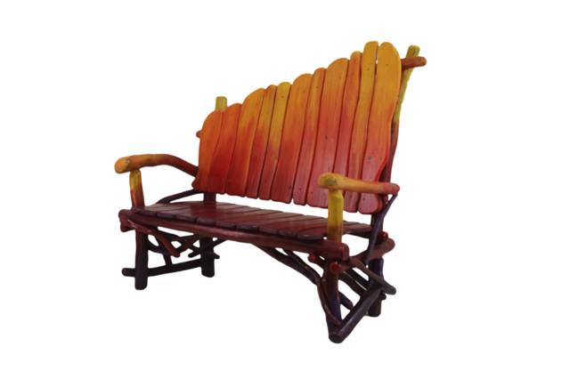 Modern Rustic Furniture rustic-benches