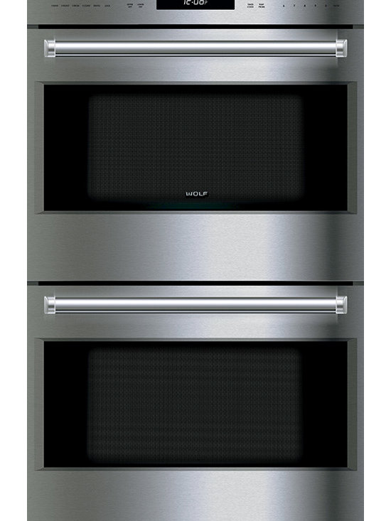 """Wolf 30"""" E Series Professional Built-In Double Oven Stainless Steel 