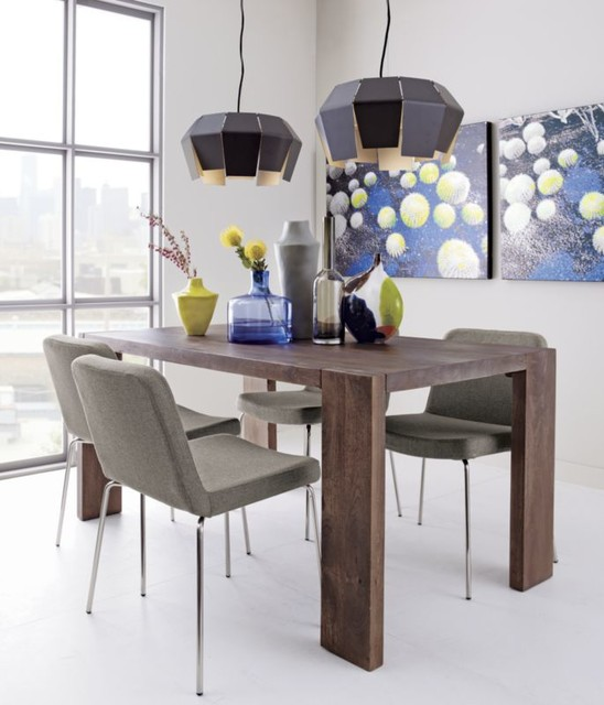 blox 35x63 dining table Dining Tables by CB2
