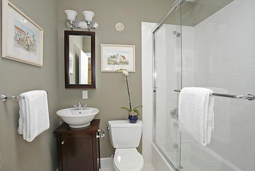 Bathroom 3 of 3 contemporary bathroom