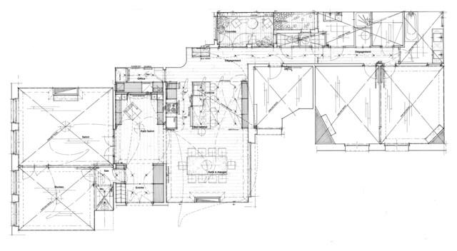Appartement paris 17eme architecture int rieure for Appartement meuble paris 17eme