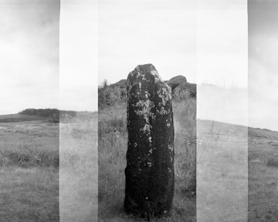Easter Island Holga Photograph (2) - Photograph shot on medium format film (Holga Style). Holgas are an overlapping of images done in the camera therefor exist like this on the negative and can be printed at any size.