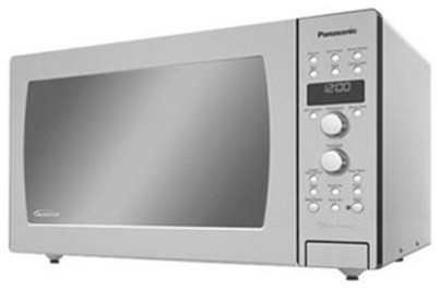 Full Size 1.5 Cu. Ft. Prestige Counter Top/Built-in Convection Microwave Oven wi modern-microwaves