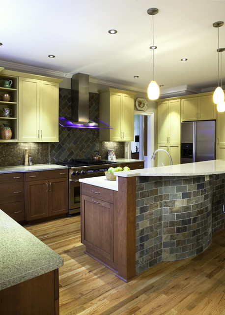 Woodmere Crossing Lane eclectic-kitchen