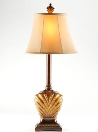 Ribbed Buffet Lamp traditional-table-lamps