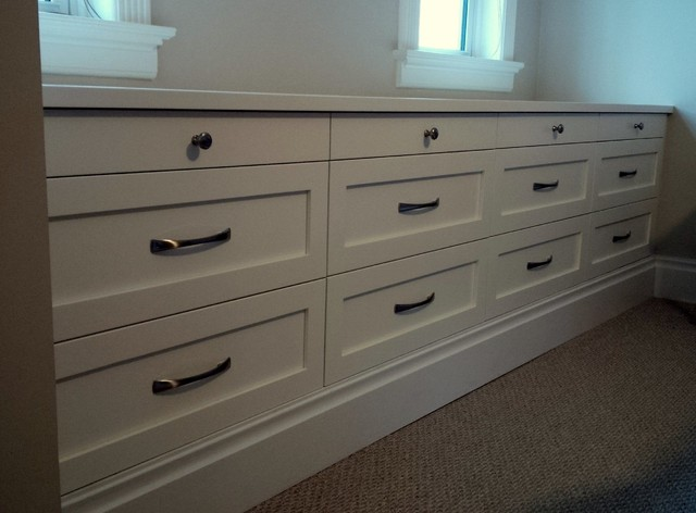 Bedroom built in drawers traditional bedroom toronto by cabinet effects - Drawers for bedroom ...
