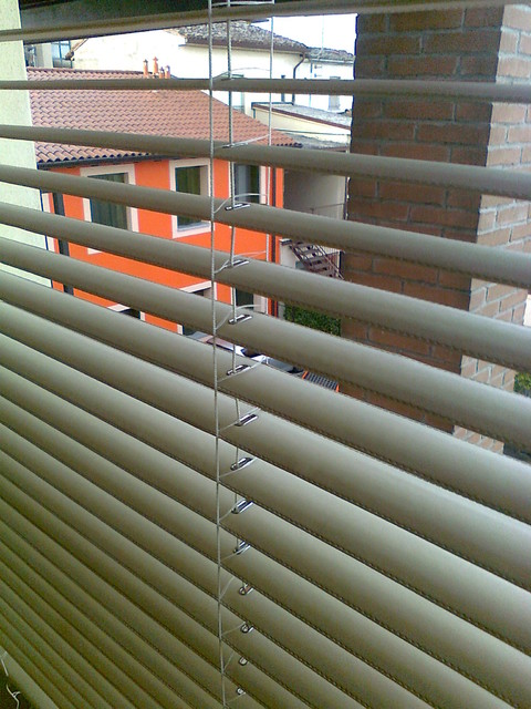 LEATHER VENETIAN BLINDS contemporary-outdoor-products