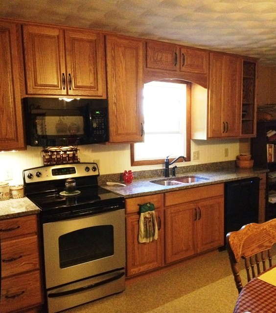Country Kitchen for Lydia traditional-kitchen