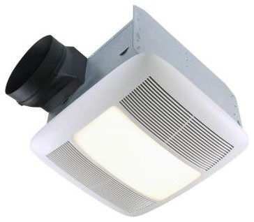 Bath Fans: NuTone Ultra Silent 110 CFM Ceiling Exhaust Bath Fan with Light and N contemporary-ceiling-fans