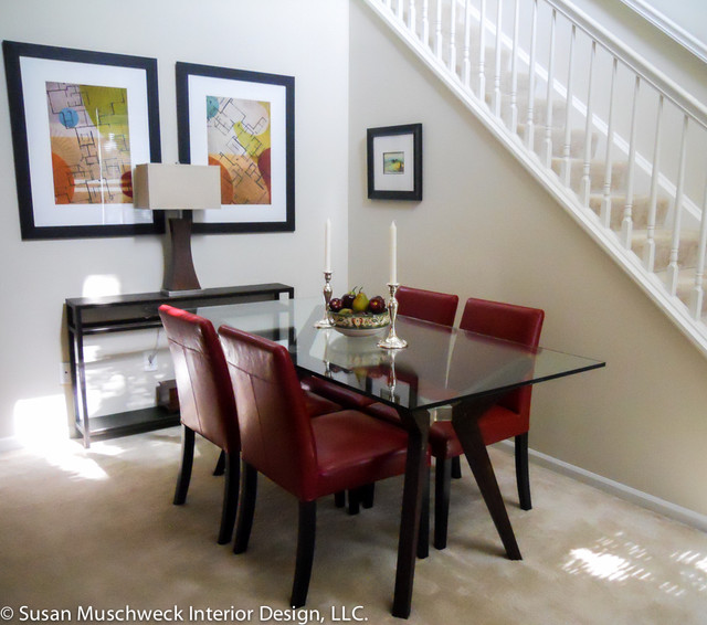 Townhouse Dining Room Traditional Dining Room Other