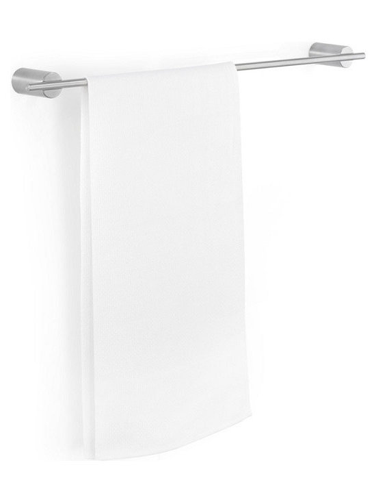 Blomus - Duo Towel Bar, Matte, Large - Stainless steel. Mounting kit included. Available with a matte or a polished finish.
