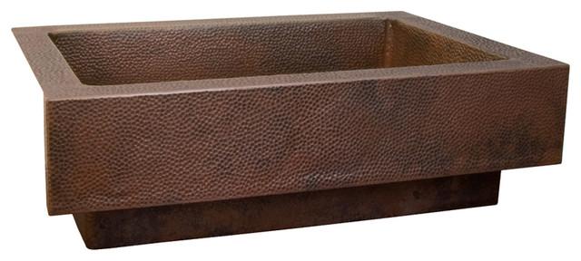 Paragon Copper Kitchen Sink, Antique contemporary-kitchen-sinks