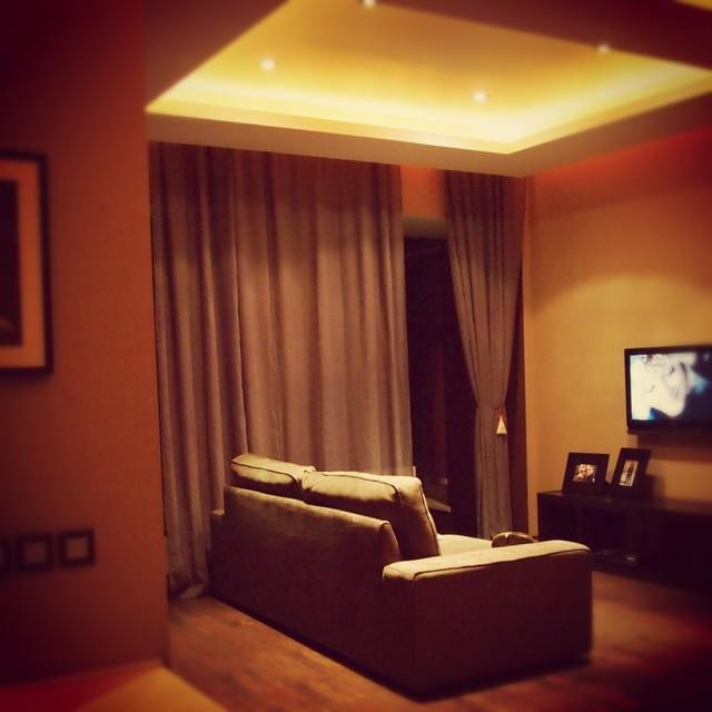 apartment Ligovsky contemporary-living-room