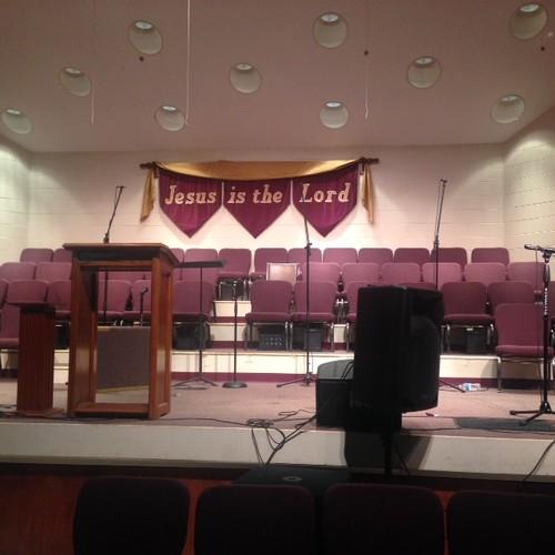Church Worship Center Wall Color