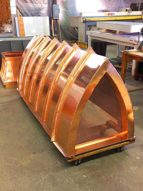 Chimney King, LLC - Cardinal Copper Decorative Shroud -