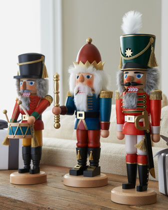 ULBRICHT Blue King Nutcracker traditional-holiday-decorations