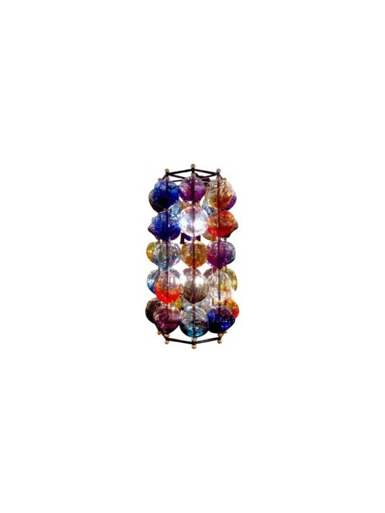 """Eco Friendly Furnture and Lighting - Opera Chandelier """"Multi Color"""""""