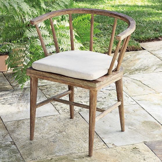 Dexter Outdoor Dining Chairs Modern Outdoor Dining Chairs by West Elm