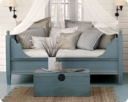 Blue Room - traditional - bedroom - other metros - by The Lettered Cottage bedroom-products