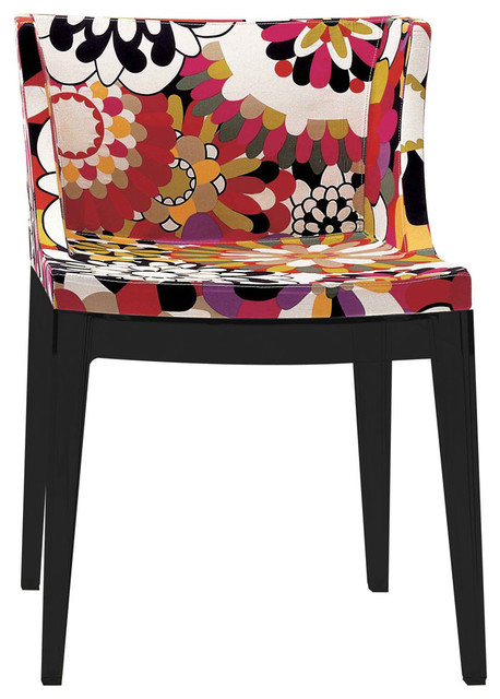 Kartell - Mademoiselle Chair in Missoni Fabric modern-armchairs-and-accent-chairs