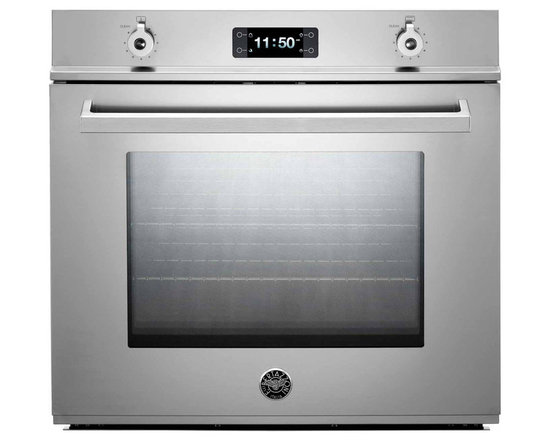 """Bertazzoni 30"""" Professional Single Electric Wall Oven, Stainless 