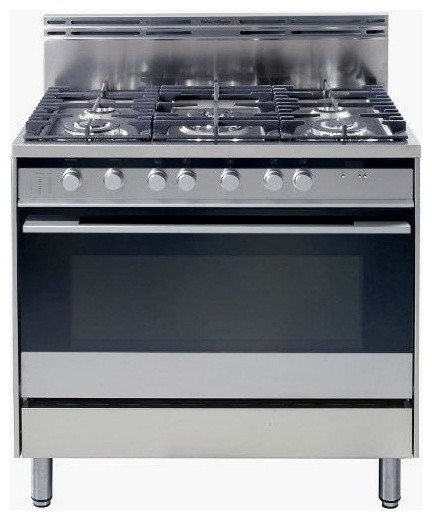 Fisher Paykel 36 Pro Style Gas Range With 5 Sealed Burners Modern G