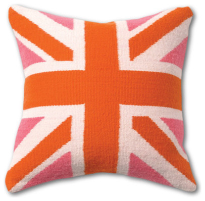 Jonathan Adler British Flag Pillow eclectic pillows
