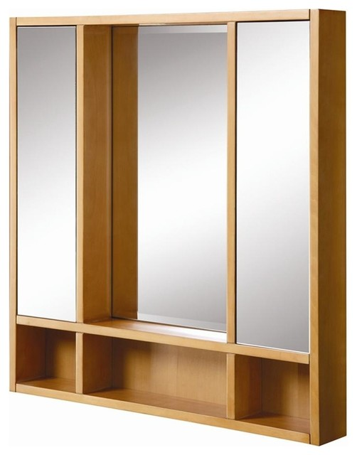 Tyson 30 in. Medicine Cabinet in Maple - 9713 - Contemporary - Medicine Cabinets - by ivgStores