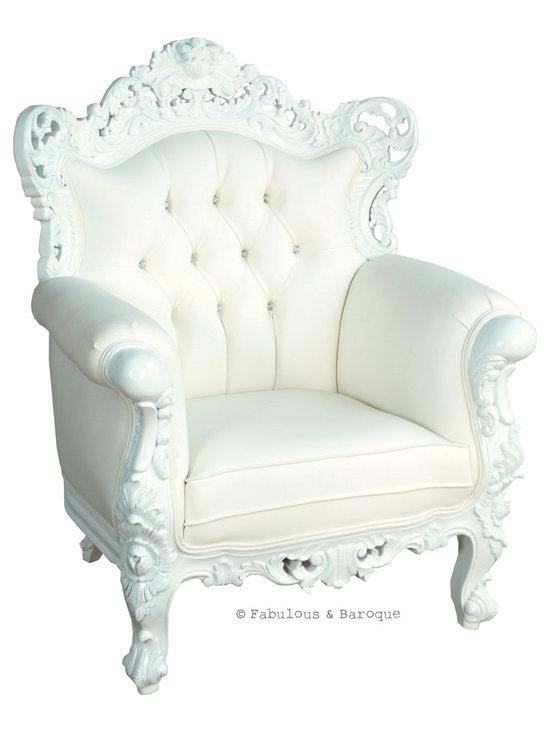 Fabulous & Baroque - Fabulous and Baroque's Belle de Fleur chair - Fabulous & Baroque, LLC
