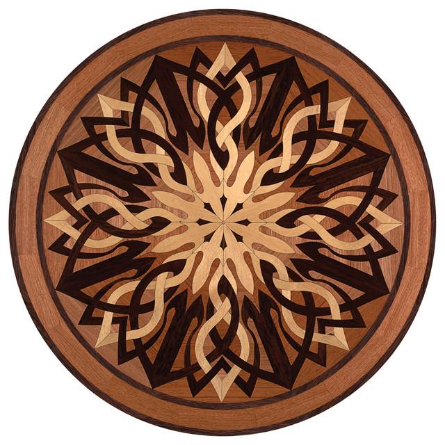Wood Inlay Designs : Oshkosh designs windsor inlay medallion contemporary