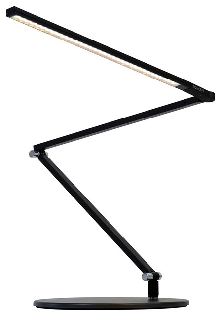 Koncept Gen 3 Z-Bar Slim Warm Light LED Black Desk Lamp modern-desk-lamps