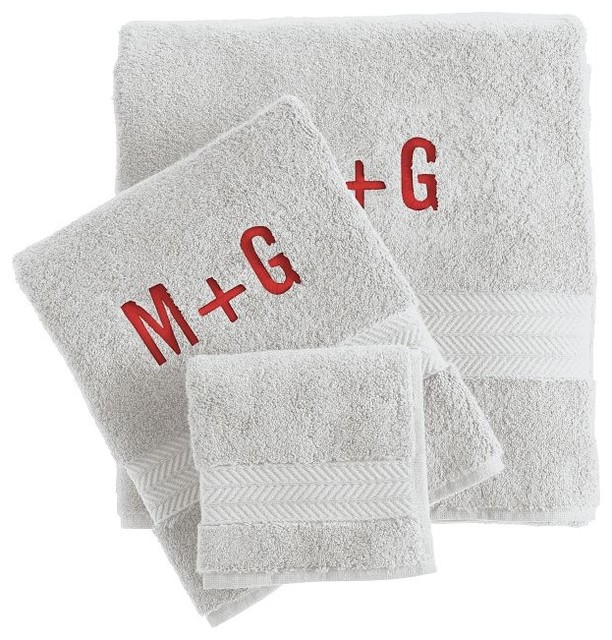 contemporary towels by Mark and Graham