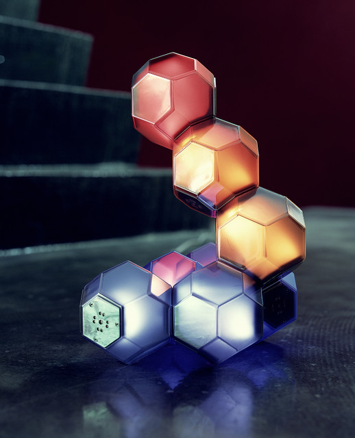 Crystal LED Modular Table Lamp by QisDesign modern-table-lamps