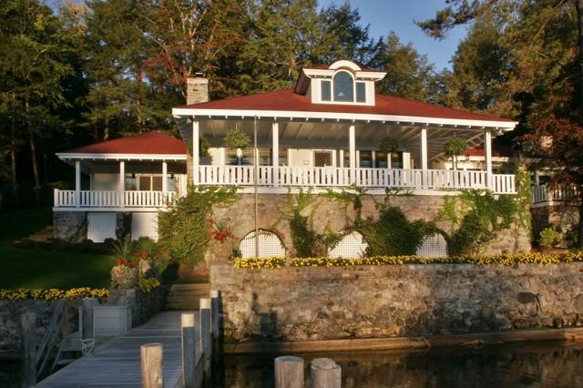 Lakeside Family Heirloom traditional-family-room