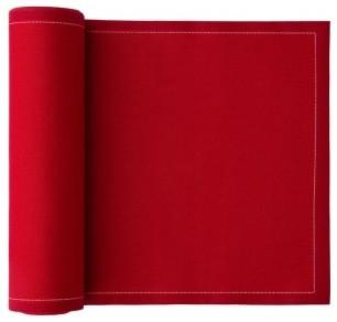 Cotton Premium Dinner Napkin, Lipstick Red contemporary-napkins