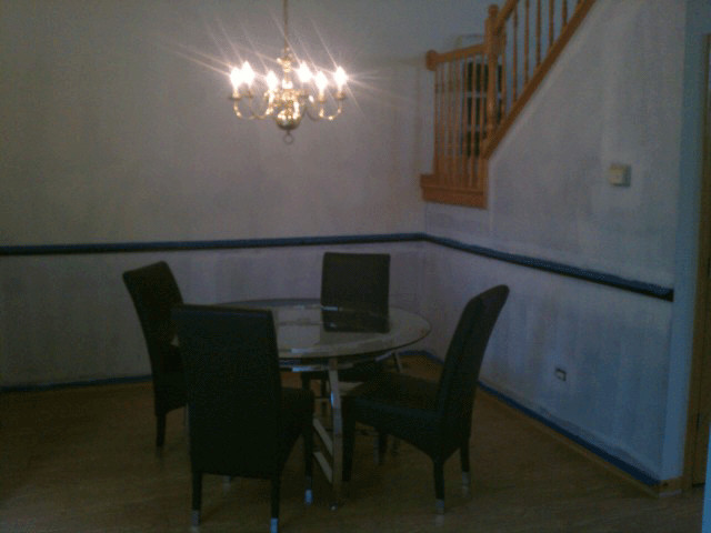 Tinley Park Townhome Painting traditional-dining-room