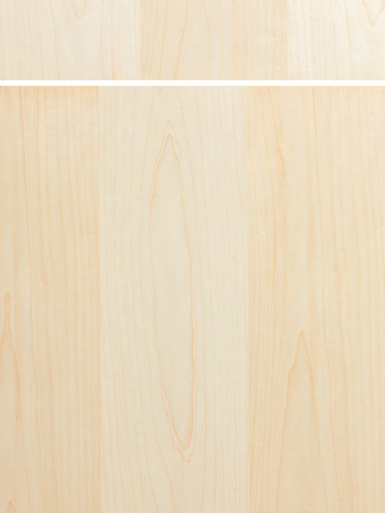 """Dura Supreme Cabinetry - Dura Supreme Cabinetry Moda Cabinet Door Style - Dura Supreme Cabinetry """"Moda - Vertical"""" (vertical grain) cabinet door style shown in Maple with  in Dura Supreme's """"Natural"""" finish."""