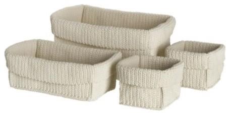 LIDAN Basket, set of 4 modern-baskets