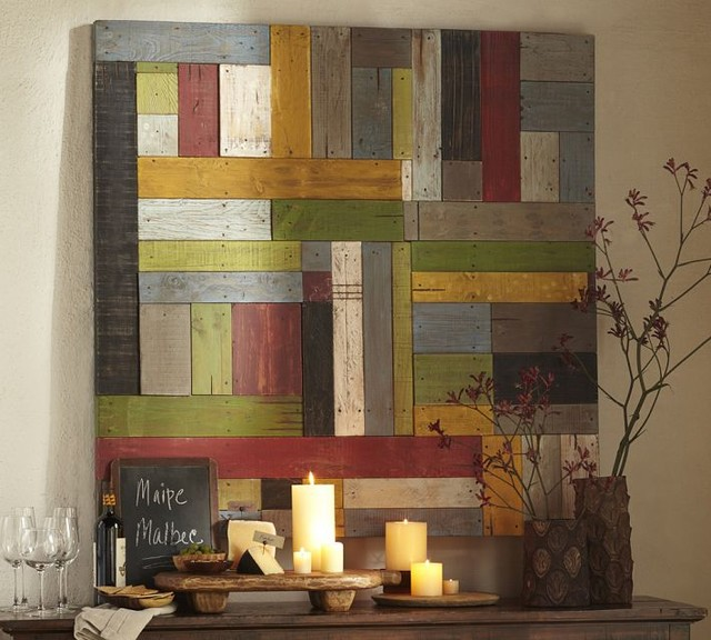 Painted Pieced Woodwork contemporary-artwork