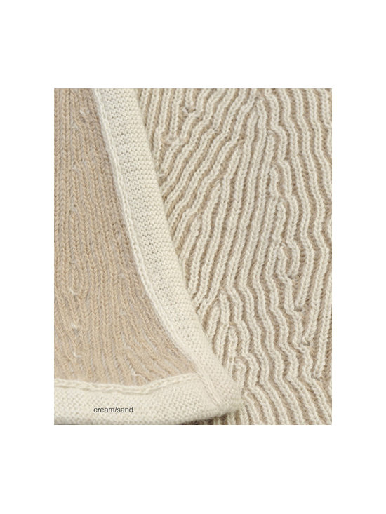 Sefte Living - Kimsa Baby Blanket Sand - A soft and elegant 100-percent baby alpaca blanket for your little one that you will love to handle. Available in muted sand, pink and blue colors, this is a throw that will not be outgrown. Once the crib and stroller days are long gone, it will make a luxurious wrap or throw for those cold nights.