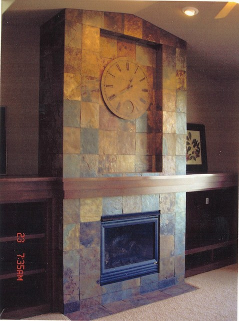 4. Craftsman 1 Story - 46360 craftsman-family-room