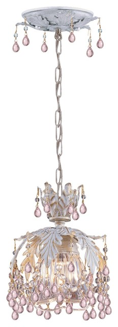 Crystorama Undefined Semi-Flush Mount Ceiling Fixture in Unknown eclectic-ceiling-lighting