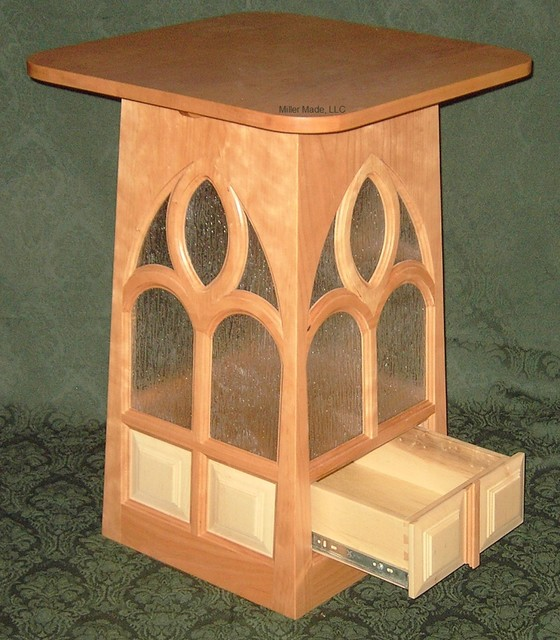 Gothic accent table side-tables-and-end-tables