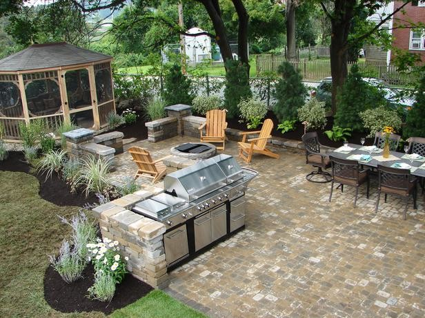 20 best outdoor kitchens ideas for your outdoor home design tropical kitchen cabinetry - Tropical outdoor kitchen designs ...