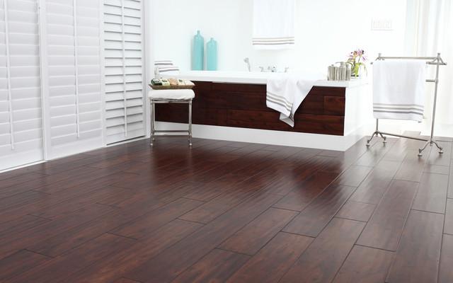 Modern Wood Floors modern hardwood floors. in this sleekly modern kitchen with an