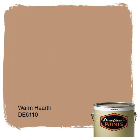 Dunn edwards paints warm hearth de6110 for Dunn edwards paints colors