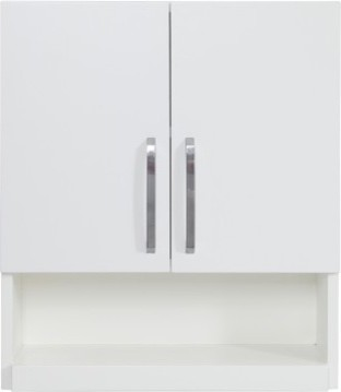 Decolav 5228 wht cameron wall cabinet in white modern - Modern bathroom wall cabinets ...