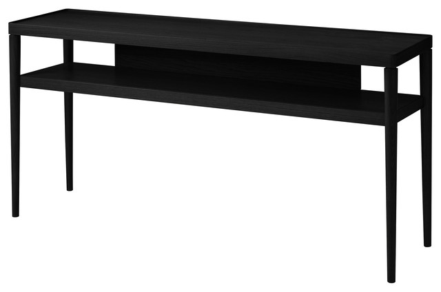 Stockholm Sofa Table, Black
